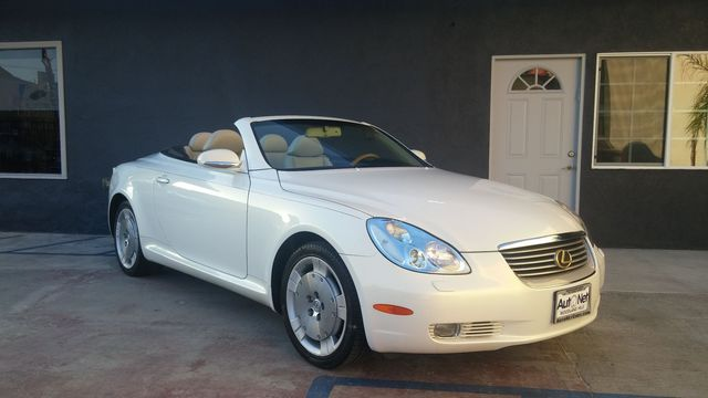 2002 Lexus SC 430 Convertible Wow This Lexus SC430 is one beautiful convertible Hard top White
