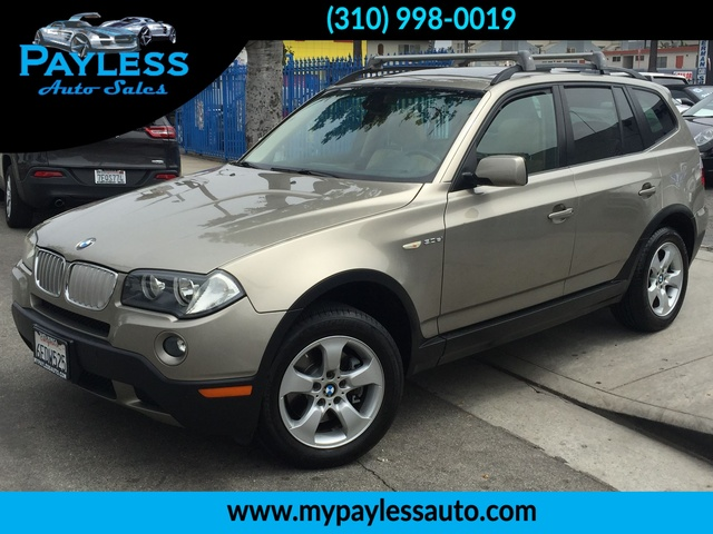 2007 BMW X3 30si 30si STUNNING BRONZE METALLIC EXTERIOR IS RARE TO FIND AT X3 AND WILL MAKE YOU
