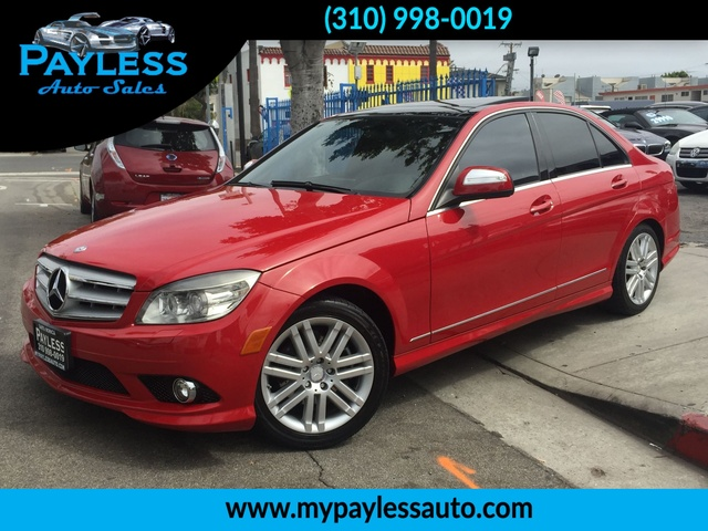 2008 Mercedes C-Class 30L Luxury THIS BEAUTIFUL RED 2008 MERCEDES C CLASS WILL STEAL YOUR HEART W