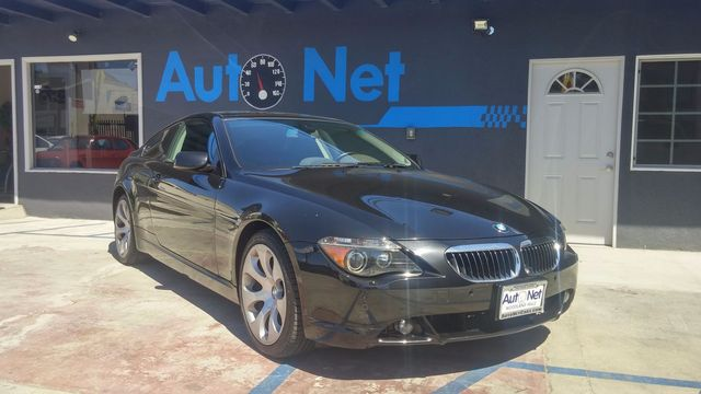 2005 BMW 645Ci w Sport PANORAMIC MOONROOF This BMW 645Ci is a sight to see Black on Black w an