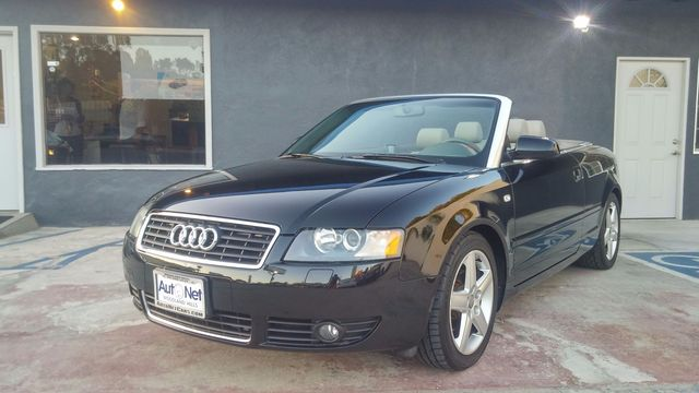 2003 Audi A4 Convertible This Audi A4 18T Convertible is just breath-taking Clean Black on Gray
