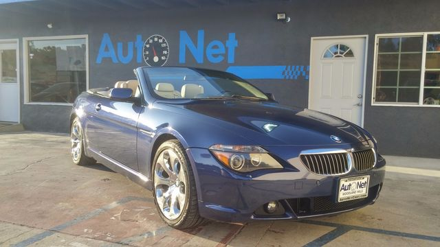 2004 BMW 645Ci Convertible w Sport pkg and Nav Wow This BMW 645Ci Convertible is truly a sight t