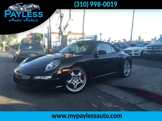 2006 Porsche 911 Carrera 4S THIS 2006 BLACK ON BLACK PORSCHE 911 4S IS THE DREAM CAR YOU WILL FALL