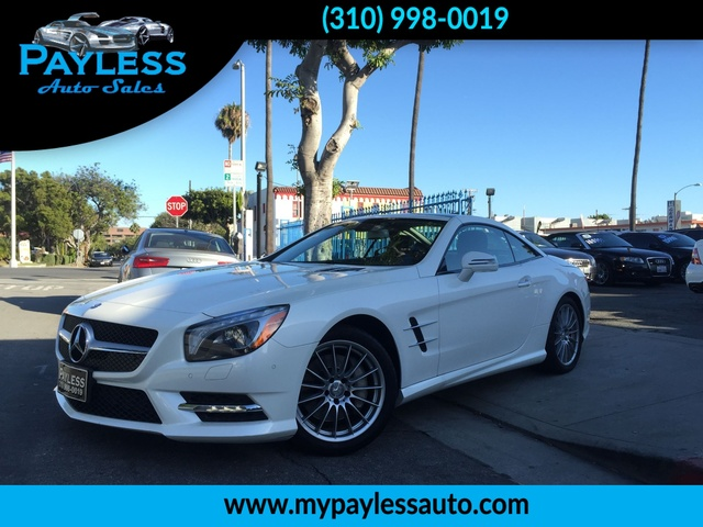2013 Mercedes SL550 SL550 THIS IS THE DREAM CAR YOU ARE LOOKING FOR THIS 2013 SL550 IS RETRACTABL