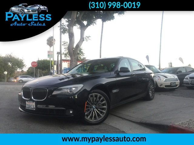 2009 BMW 750i 750i THIS 2009 BMW 750 I IS A DREAM CAR WITH DARK WOODGRAIN INT IT IS FULLY LOADED