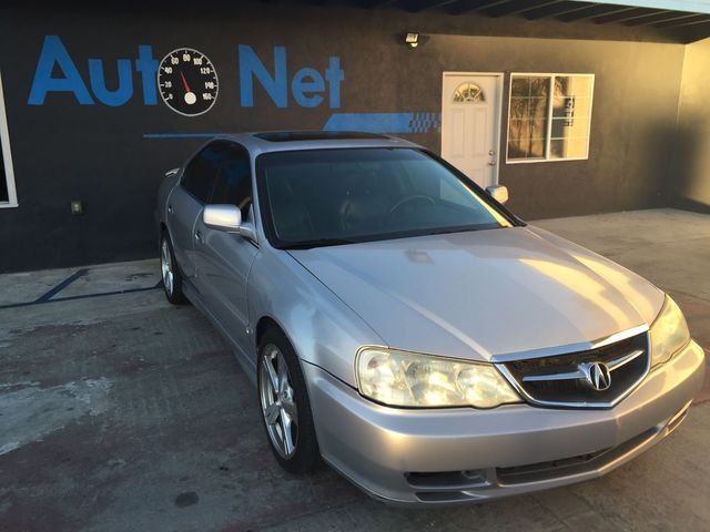2002 Acura TL S Type  wNavigation This Acura TL 32L Type-S is in a looker Silver on Black w an