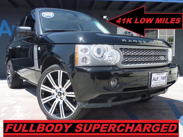 2008 Land Rover Range Rover Supercharged w 41K miles WOW This 08 Range Rover is Supercharged with