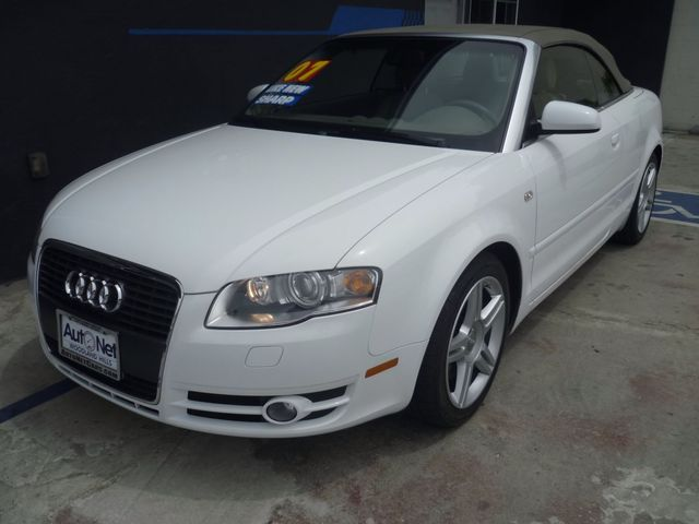2007 Audi A4 20T Convertible with NAVIGATION One look at this 2007 Audi A4 Convertible and youll