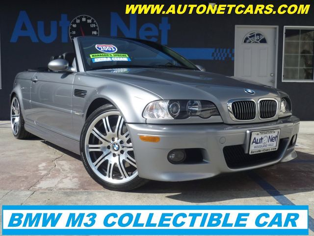 2003 BMW M3SPORTPKG This BMW M3 is truly the Ultimate Driving Machine This Convertible is Steel G