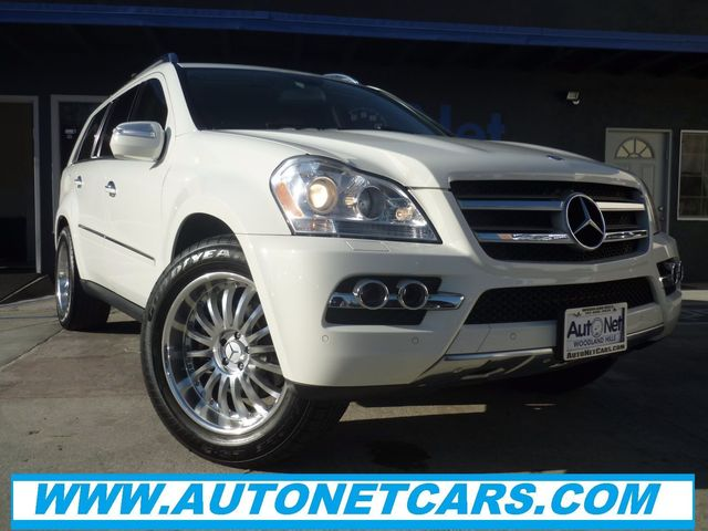 2010 Mercedes GL-Class GL450 W Back up camra amp This 2010 GL450 is a true beauty White on Gra