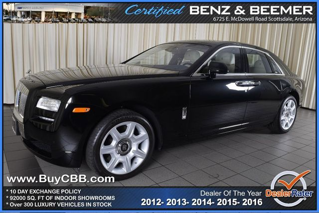 Used 2012 Rolls-Royce Ghost, $165000