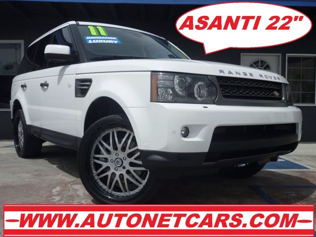 2011 Land Rover Range Rover Sport HSE LUX Breathtaking is the only word to describe this 2011 Rang