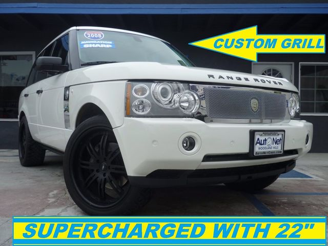 2008 Land Rover Range Rover Supercharged One of a kind car Breathtaking is the only word to descr