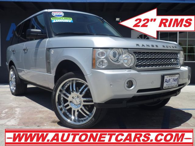2006 Land Rover Range Rover WITH  22 Nice This 06 Range Rover is Full body HSE and ready to go S