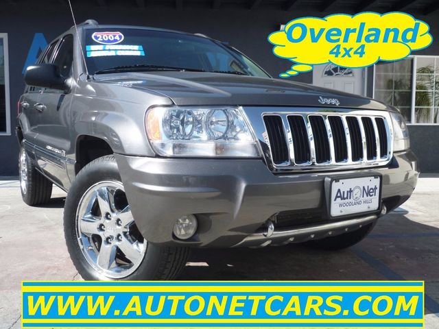 2004 Jeep Grand Cherokee Overland 4x4 QUADRA DRIVE II Looking for a reliable 4 Wheel Drive vehicle
