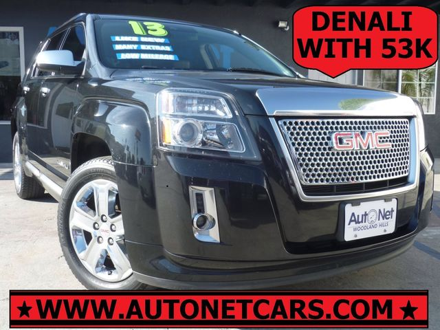 2013 GMC Terrain Denali This 2013 GMC Denali Black on Black Leather interior w an Automatic trans