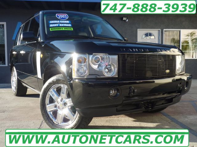 2003 Land Rover Range Rover HSE Look at this 2003 Range Rover is in amazing shape Clean Black on