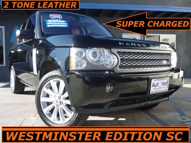2008 Land Rover Range Rover WESTMINSTER SUPER CHARGED Looking for a stylish and sporty SUV This 2