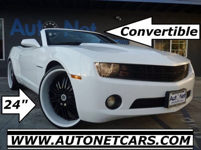 2012 Chevrolet Camaro 24 inch premium Sport Wheels WOW This Chevy Camaro LT Convertible is in IMM
