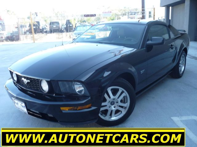 2007 Ford Mustang GT Premium Check out this 2007 Ford Mustang GT This Coupe is Black on Black w