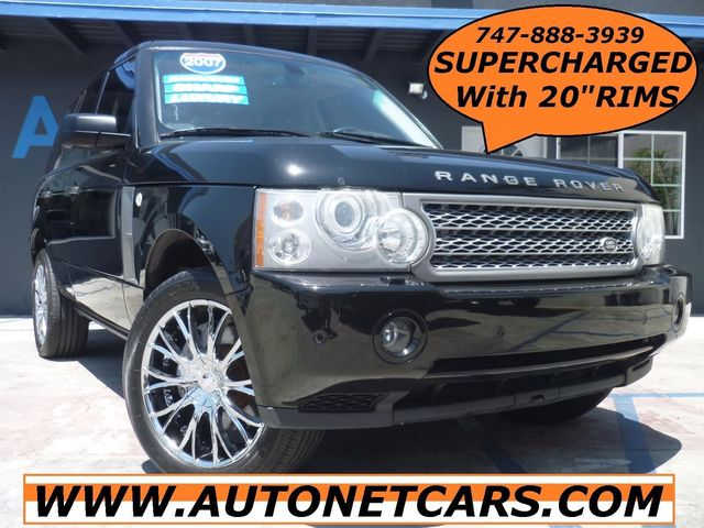 2007 Land Rover Range Rover SUPER CHARGED with 20 INCH WHEEL Nice This 07 Range Rover is Supercha