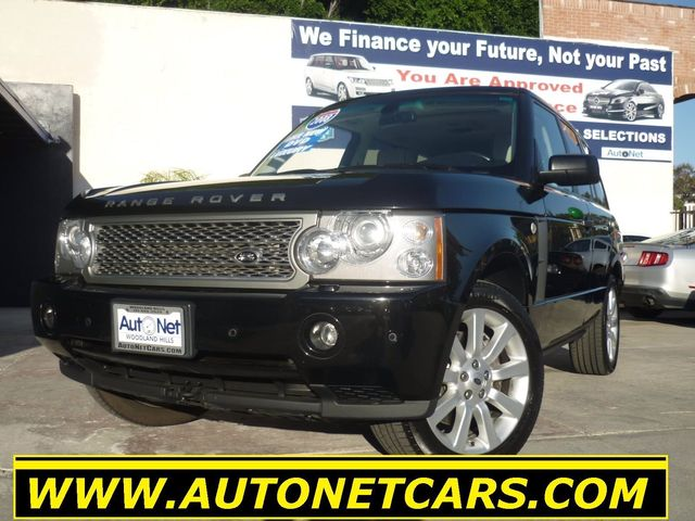 2008 Land Rover Range Rover SUPERCHARGED Breathtaking is the only word to describe this 2008 Range