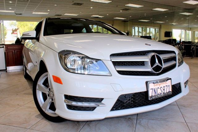 2012 Mercedes C250 C250 CLEAN CARFAX THIS MERCEDES-BENZ C-CLASS C250 IS A 2 DOOR COUPE WITH KEYL