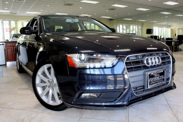 2013 Audi A4 Premium Plus CLEAN CARFAX 2 OWNERS LOW MILES COME CHECK OUT THIS SLEEK BLACK 20
