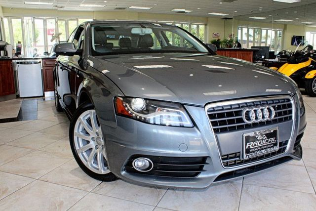 2012 Audi A4 20T QUATTRO Premium Plus CLEAN CARFAX 2 OWNERS COME ON IN AND TAKE THIS 2012 AUD