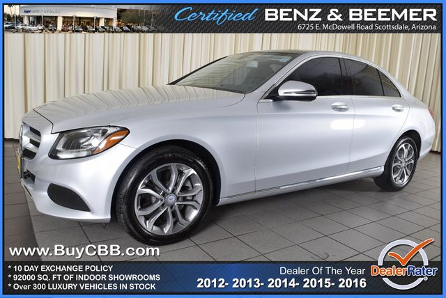 Used 2016 Mercedes-Benz C-Class, $31000