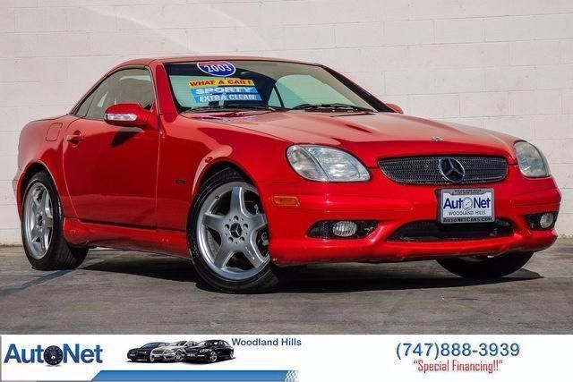 2003 Mercedes SLK230 AMG PKG Kompressor  CONVERTIBLE This Mercedes-Benz SLK 230 AMG PKG Hard top