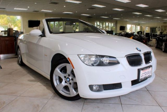 2008 BMW 328i 328i CLEAN CARFAX 2 OWNERS PREMIUM PACKAGE HARD TOP CONVERTIBLE SERVICED AT