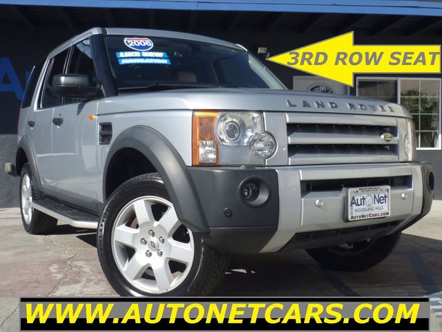 2006 Land Rover LR3 HSE WITH  3RD ROW SEATS and NAV Look at this 2006 Land Rover LR3 Clean Titani