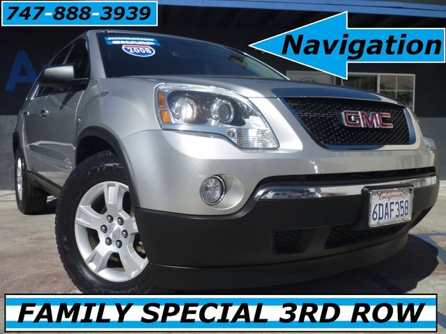 2008 GMC Acadia SLE ONE OWNER W 3RD ROW SEATS This 2008 GMC Acadia SLE 275-hp 36-liter V-6 is