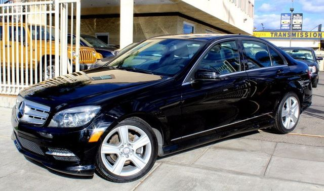 2011 Mercedes C-Class C300 Sport CLEAN CARFAX 2 OWNERS MOON ROOF NAVIGATION BLUETOOTH CO