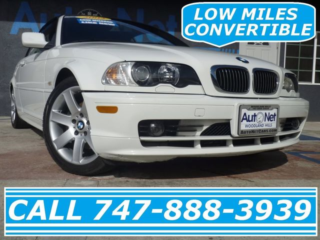 2002 BMW 325Cic What a great choice This BMW 325i Convertible is very low miles and in excellent