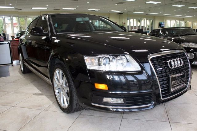 2010 Audi A6 30T Premium Plus CARFAX CERTIFIED LOW MILES NAVIGATION BLUETOOTH MOON ROOF