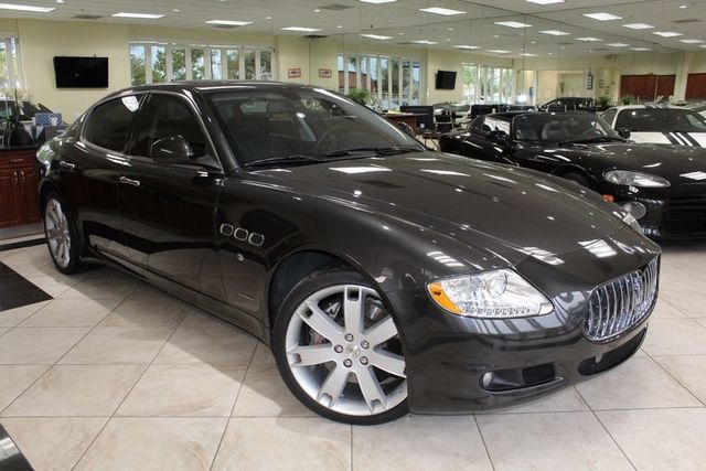 2010 Maserati Quattroporte S CARFAX CERTIFIED SUPER LOW MILES NAVIGATION BLUETOOTH PARK SE