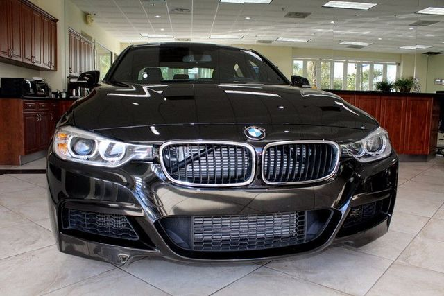 2014 BMW 335i CARFAX CERTIFIED 1 OWNER FACTORY WARRANTY LOW MILES M-SPORT PACKAGE BLUETO