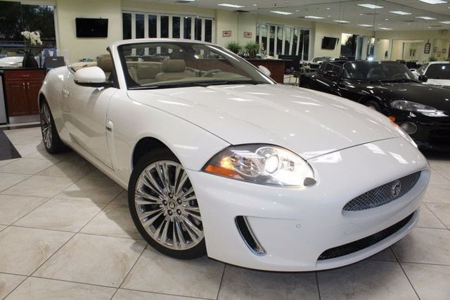 2010 Jaguar XK CARFAX CERTIFIED CA CAR LOW MILES CONVERTIBLE PUSH START PADDLE SHIFTERS
