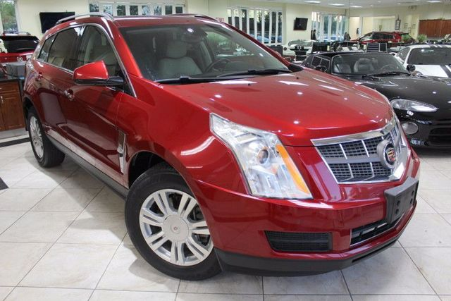 2010 Cadillac SRX Luxury Collection CARFAX CERTIFIED LOW MILES PUSH START BLUETOOTH XM CAP