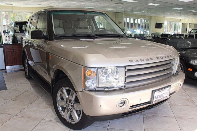 2004 Land Rover Range Rover HSE CARFAX CERTIFIED CALIFORNIA CAR SUPER LOW MILES LEATHER NA