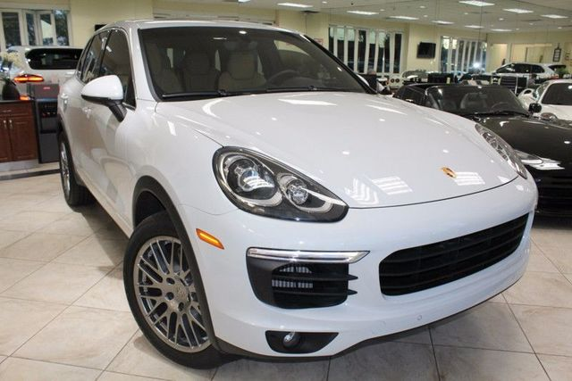 2015 Porsche Cayenne S SUPER LOW MILES INCREDIBLY CLEAN CAR CARRERA WHITE BACK UP CAMERA N