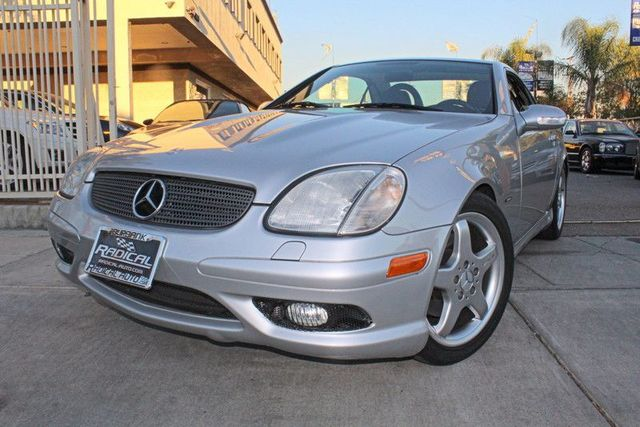 2003 Mercedes SLK-Class 32L 2 OWNER SUPER CLEAN SUPER LOW MILES HARD TOP CONVERTIBLE LEAT