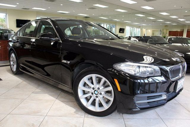 2014 BMW 535i CARFAX CERTIFIED 1 OWNER FACTORY WARRANTY PREMIUM PACKAGE LOW MILES KEYLES