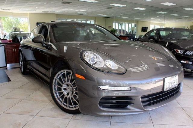 2014 Porsche Panamera S CARFAX CERTIFIED ONE OWNER FACTORY WARRANTY LOW MILES PREMIUM PACK