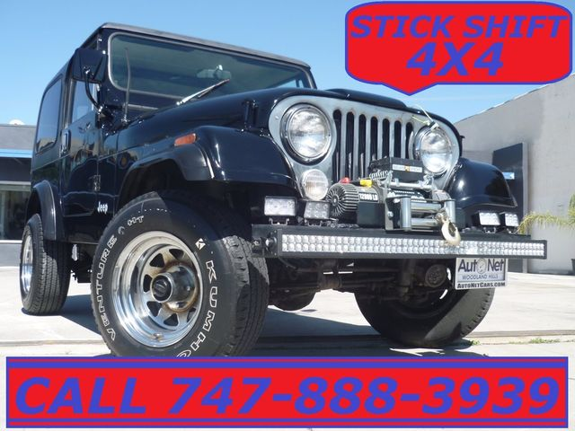 1985 Jeep CJ7 4WD 42L Hard top 4X4 Winch PENDING SAL This Jeep could be the perfect 4WD vehicle