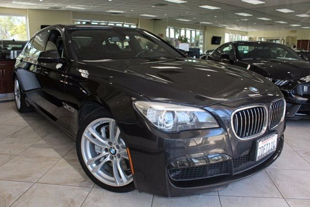 2014 BMW 750Li CARFAX CERTIFIED ONE OWNER FACTORY WARRANTY M SPORT PACKAGE HEADS UP DISPLA