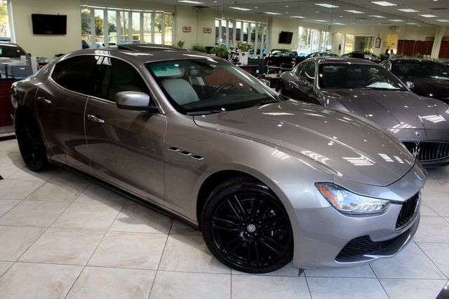 2015 Maserati Ghibli CARFAX CERTIFIED ONE OWNER SUPER CLEAN NAVIGATION BACK UP CAMERA MO