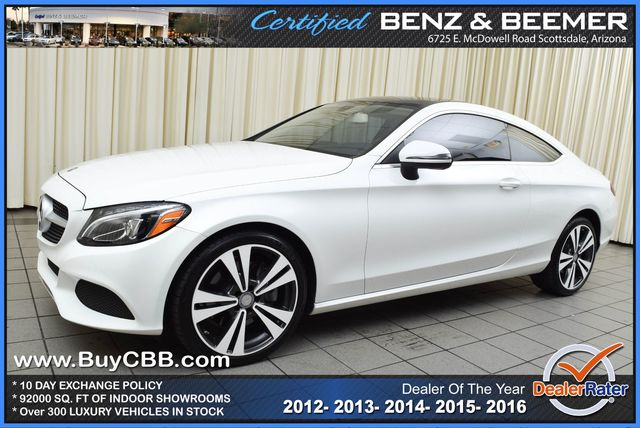 Used 2017 Mercedes-Benz C-Class, $42000